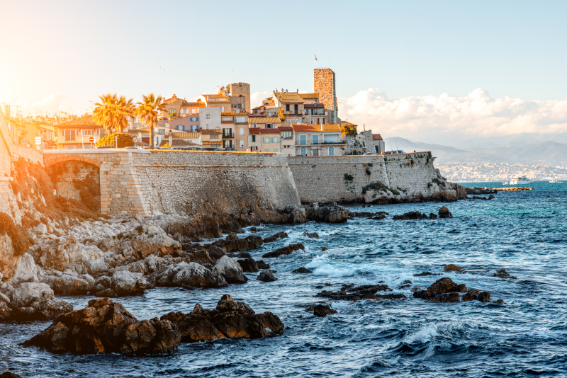 Antibes viagem desde Nice
