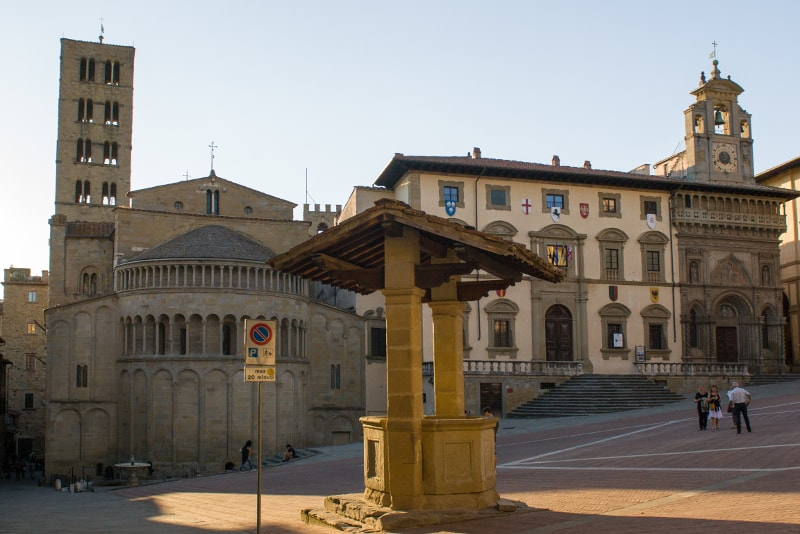 Arezzo Toskana Weintouren