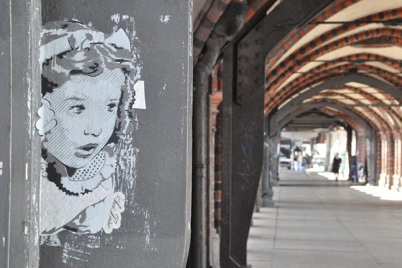Visitas de arte de rua de Berlim