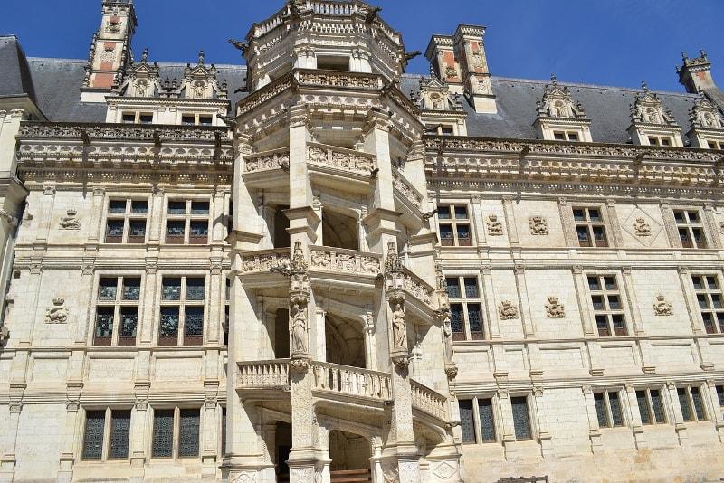 Castillo de Blois Loire Valley