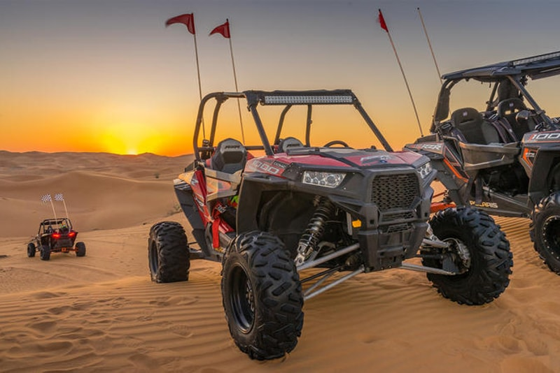 Buggy safari in Dubai desert