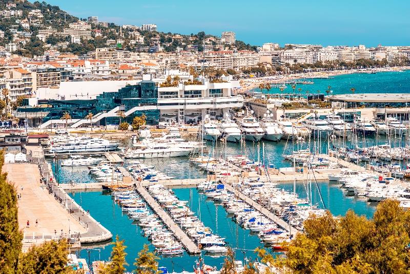 Cannes viagem desde Nice