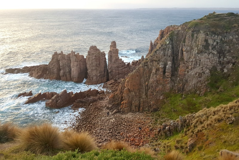 Camina por el sendero Cape Woolamai