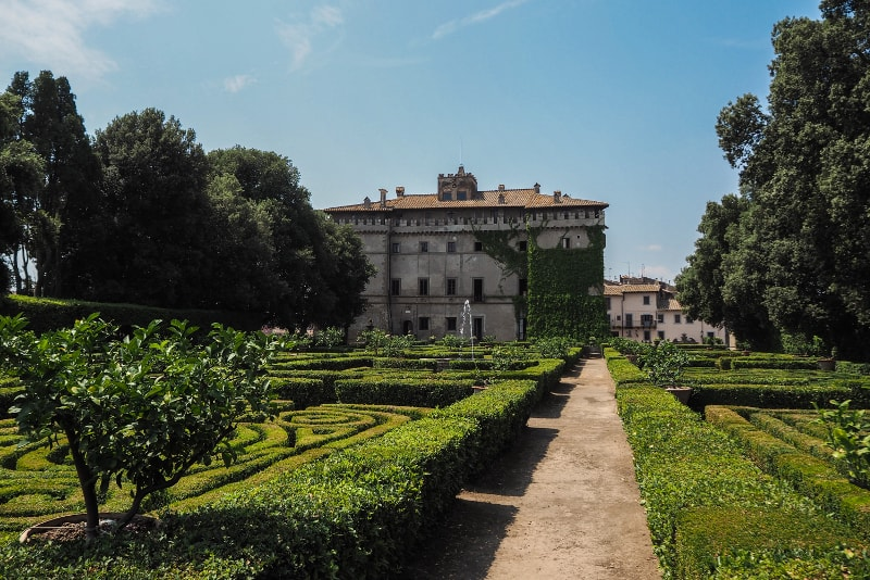 Cerveteri - el castillo de Ruspoli