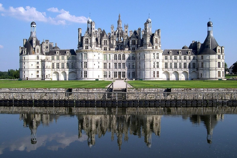 Castillo de Chambord Loire Valley
