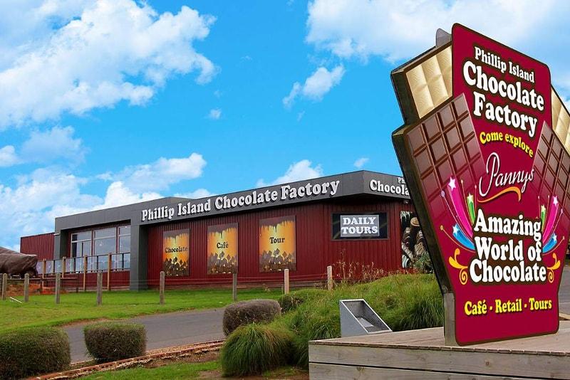 Visita a la fábrica de chocolate