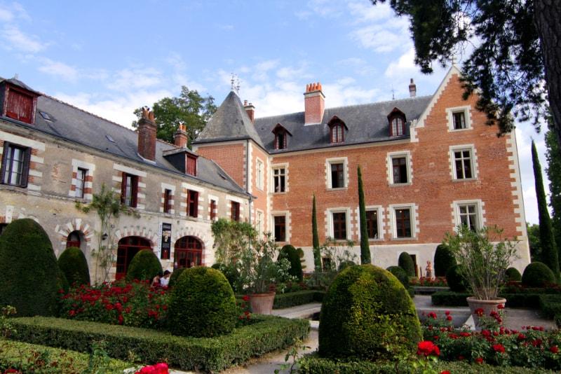 Castillo de Clos Luce Loire Valley