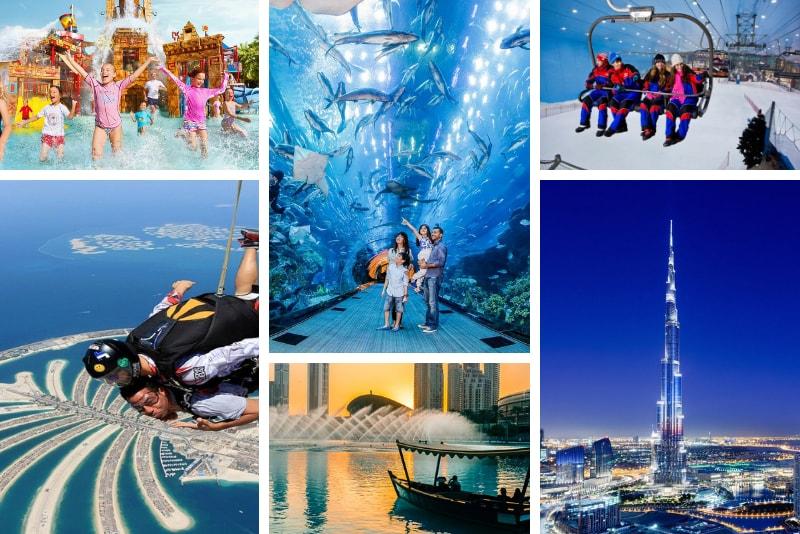 Combo entradas - Dubai