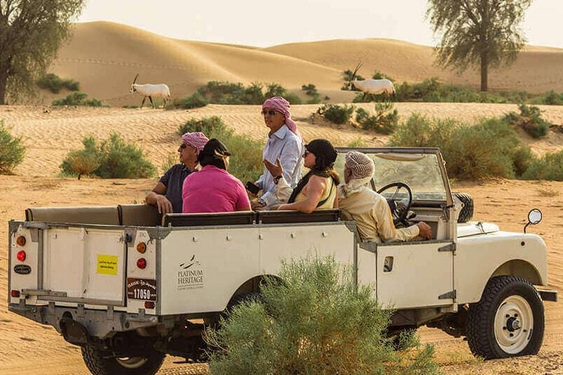 Reserva de conservación del desierto de Dubai