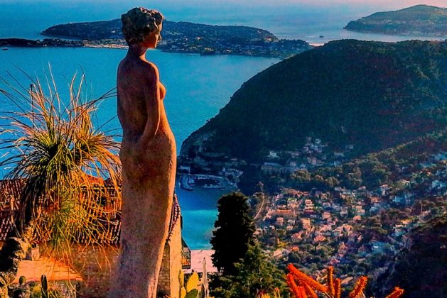 Eze viajem desde Nice