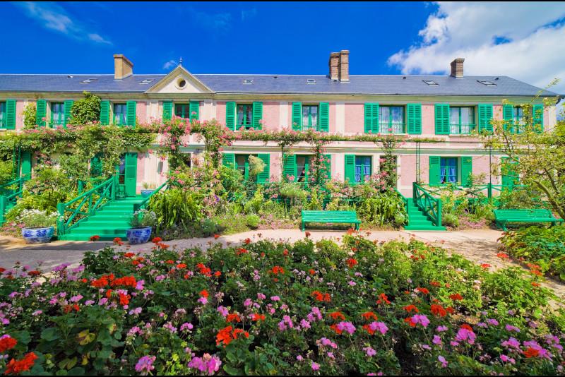 Giverny and Monet house viagem de Paris