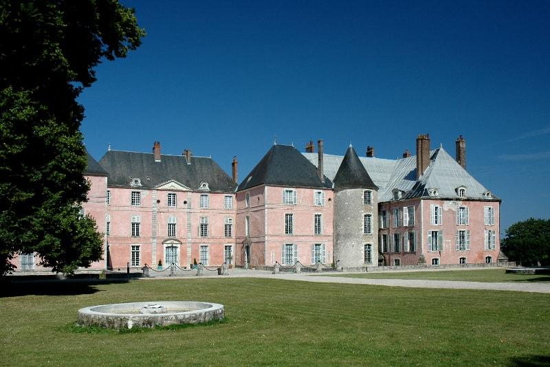 Castillo del valle del Loira de Meung-sur-Loire