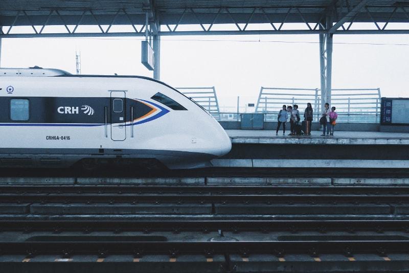 Estação dos comboios