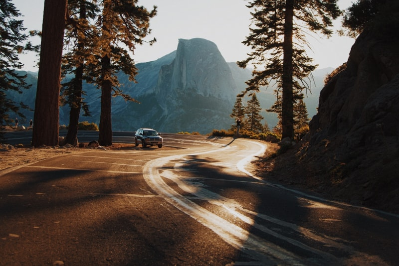 Strada per la Muir Woods