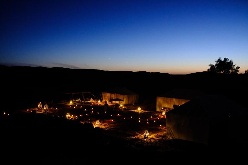 Camping nocturne - Excursions désert Dubaï