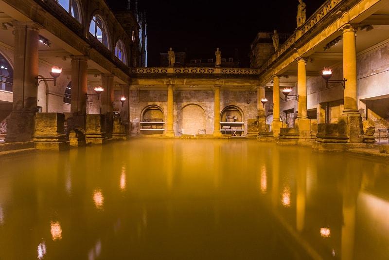 Roman baths - #9 Rome night tours