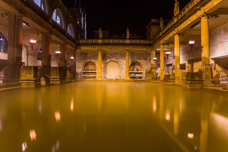 Roman baths - #9 Rome night tours