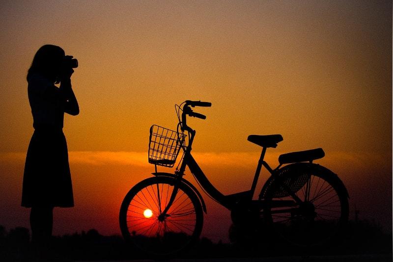 Passeios noturnos de bicicleta