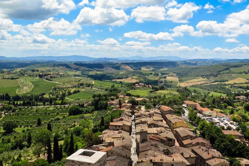 San Gimignano Toskana Weintouren