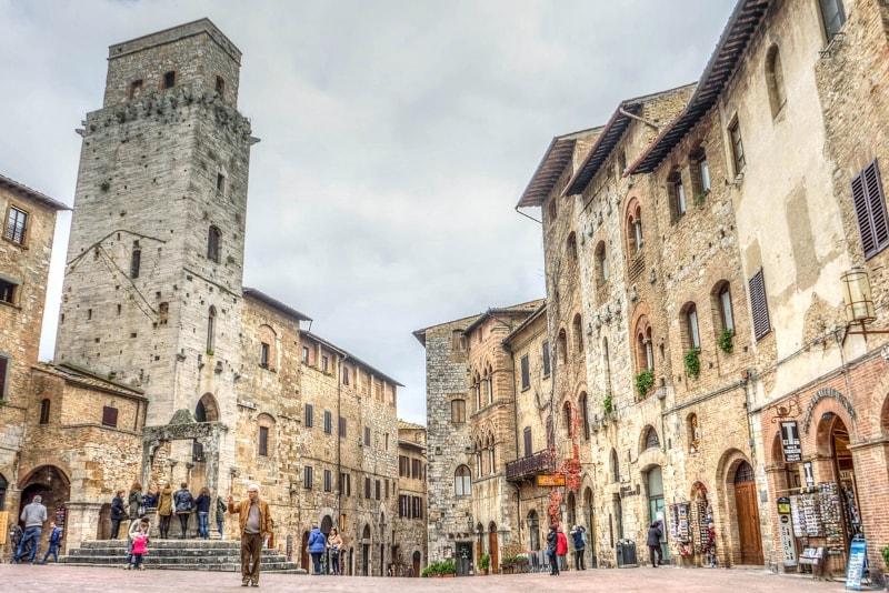 San Gimignano - Ausflüge von Rom aus