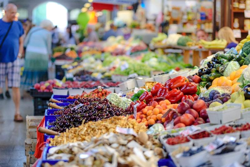 Mercado de San Lorenzo em Florença - Excursões por Vinícolas na Toscana