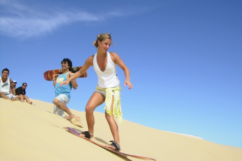 Sandboarding - Excursions désert Dubaï
