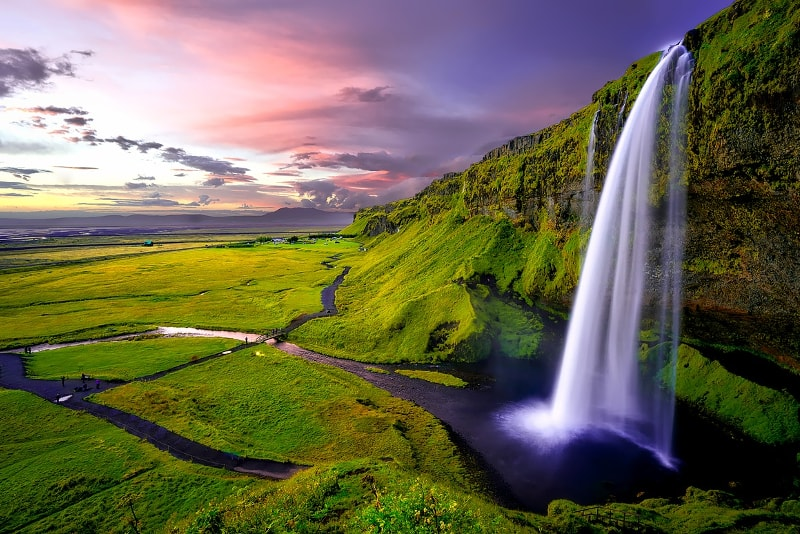 Seljalandsfoss waterfalls - Day Trips from Reykjavik