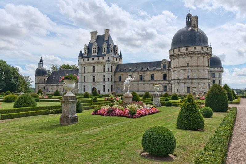 Castillo de Valençay Loire Valley