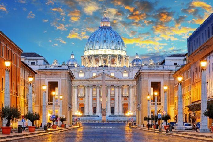 Basílica de San Pedro - Entradas del Vaticano