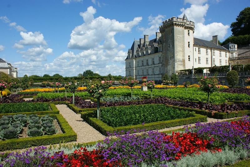 Castillo del valle del Loira de Villandry