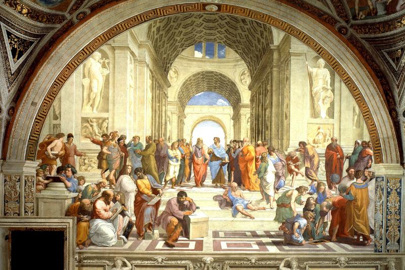 Visite guidée des musées du Vatican – L'École d'Athènes, Raphaël