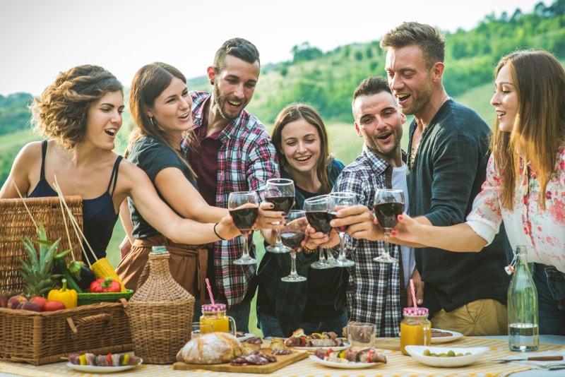 Visitas de vino y cerveza