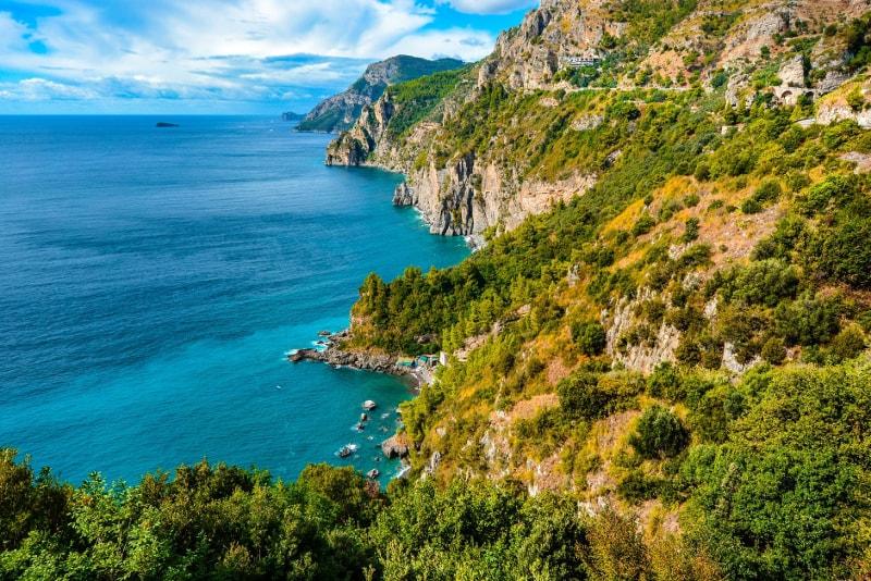 Costa de Amalfi - Excursiones de un día fuera de Roma