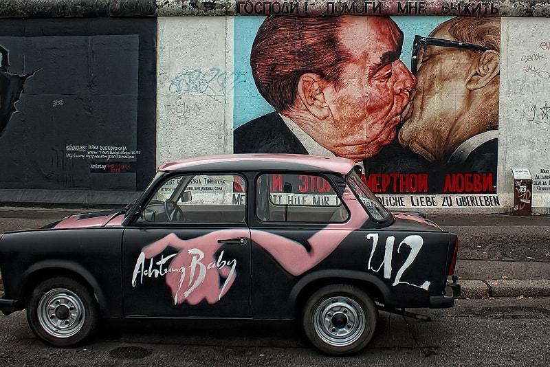 Baiser de la Fraternité, mur de Berlin - Berlin Tours – 13 visites incontournables