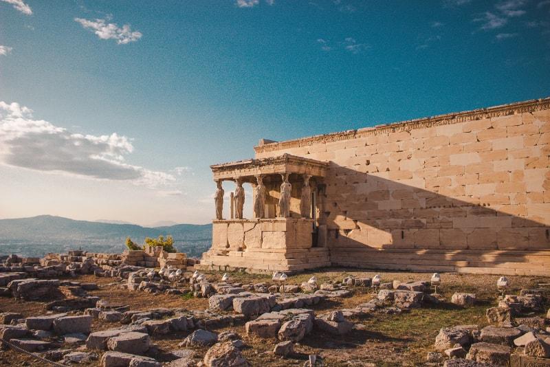 Erecteion - Bilhetes para a Acrópole