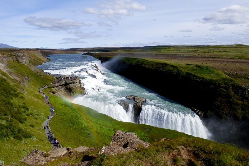 Gullfoss waterfalls - Day Trips from Reykjavik