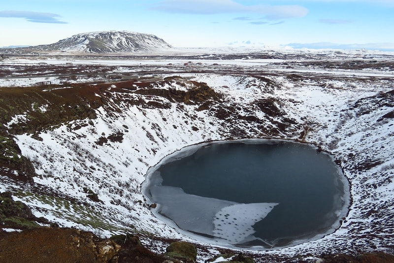 Kerid crater - Day Trips from Reykjavik