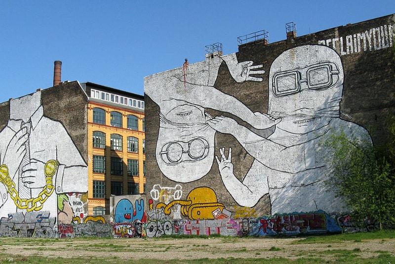 Murale di Kreuzberg