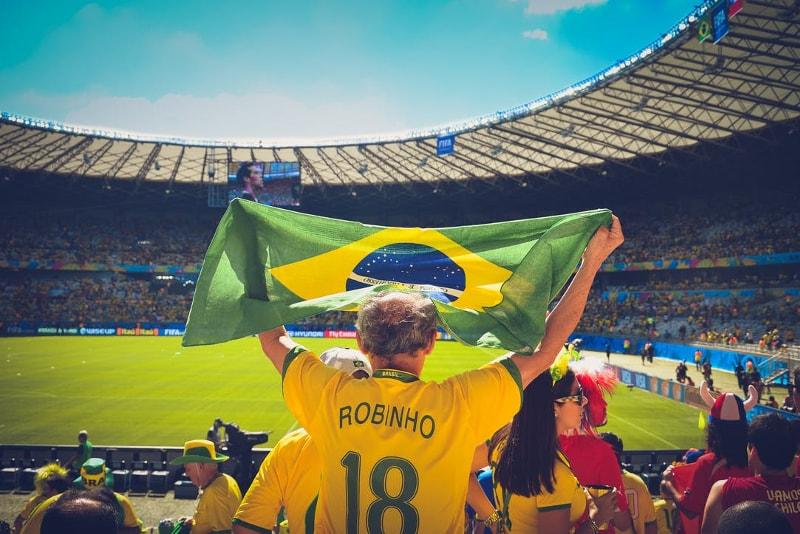 Estádio de futebol do Maracanã