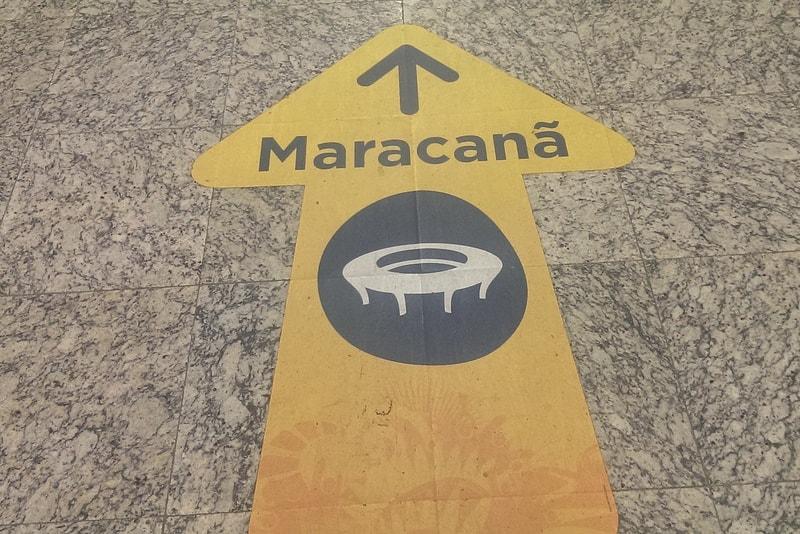 Estadio de futbol maracana
