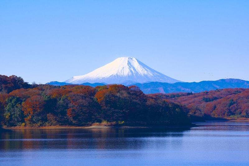 Il Fuji visto dai cinque laghi