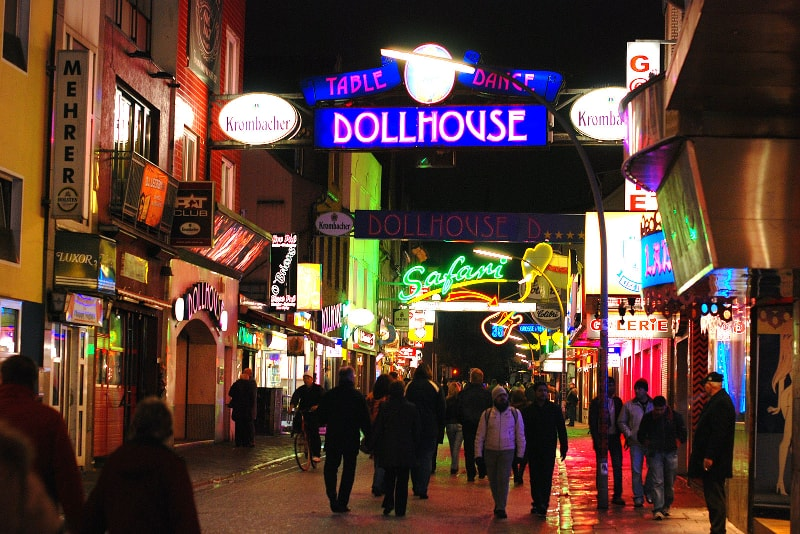 Reeperbahn Hamburg tours - places to visit