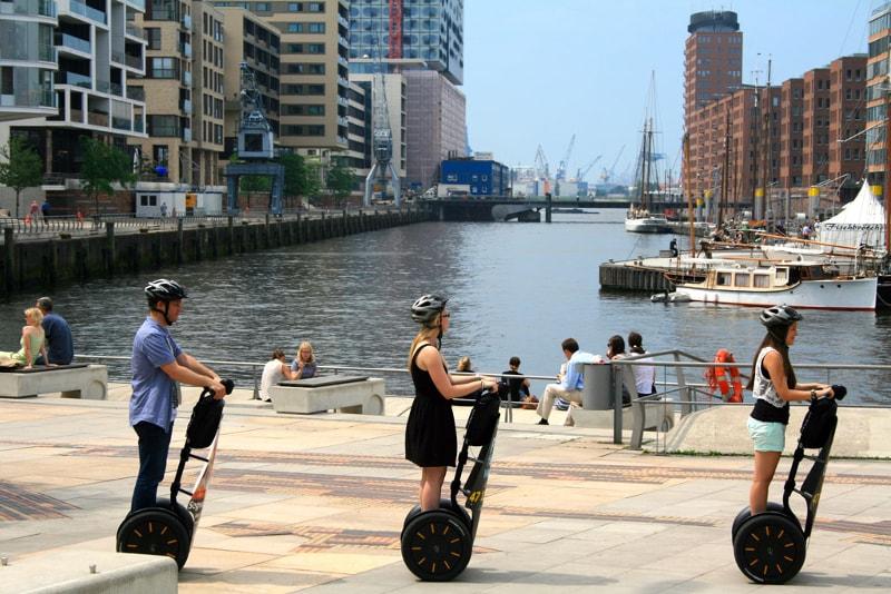 Segway Hamburg tours - places to visit