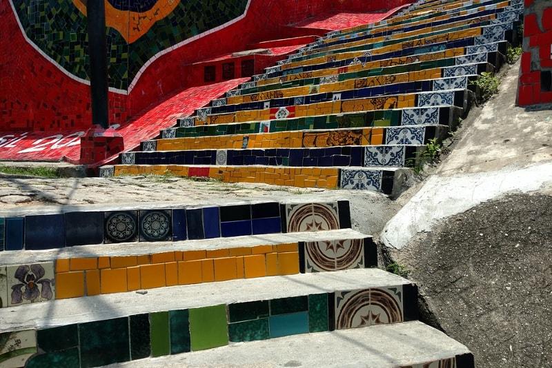Selaron Steps city tours