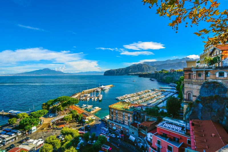 Sorrento day trips from Naples