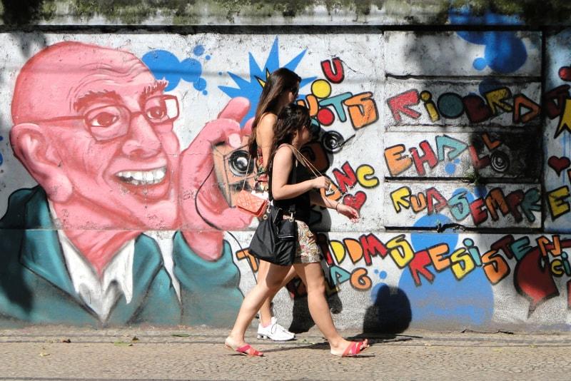 Arte callejero de Río de Janeiro