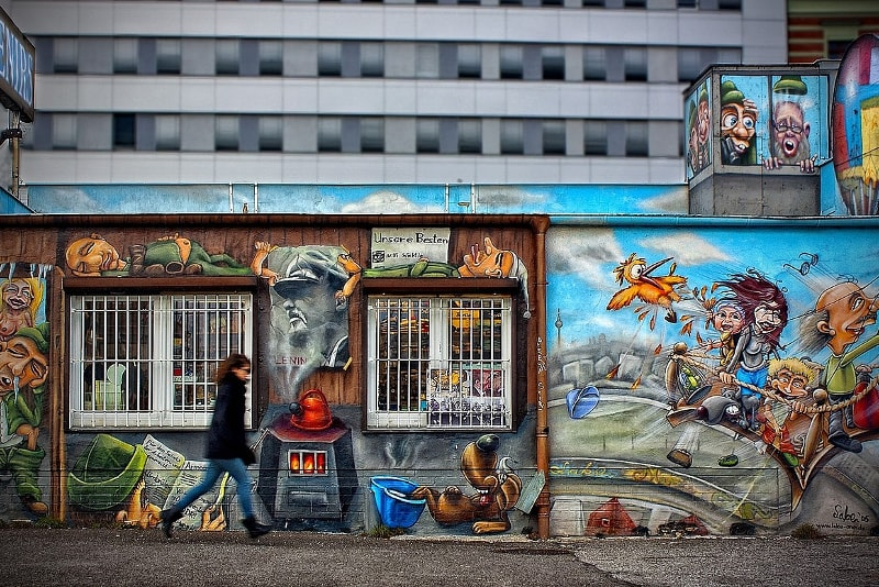 Berlin street art tour