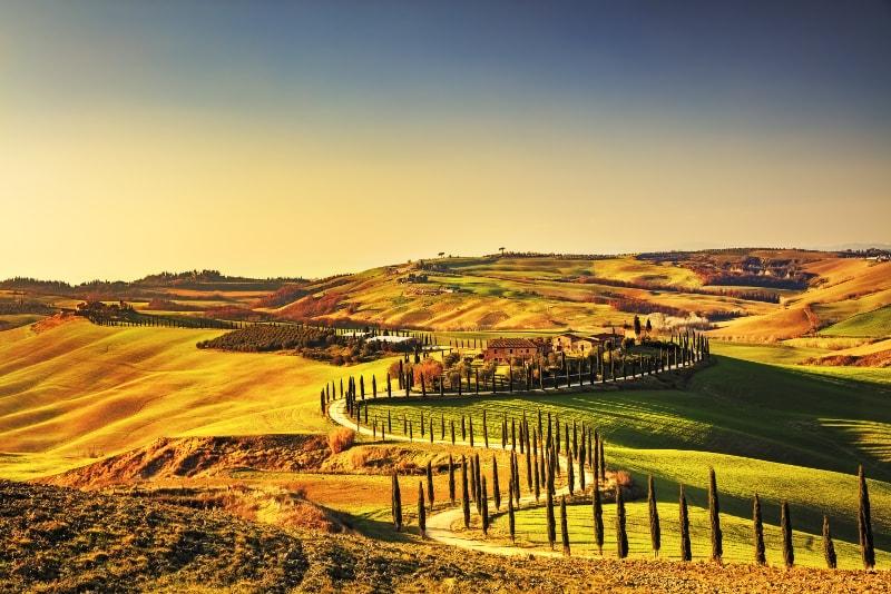 Toskana - Ausflüge von Rom aus