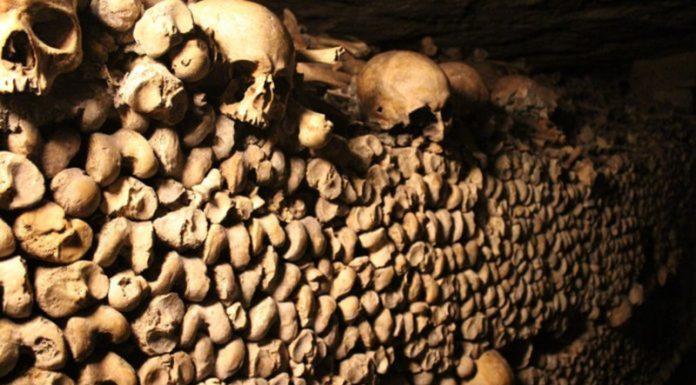 Mur des catacombes