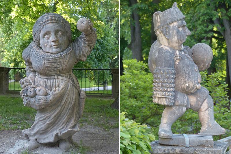 Dwarf Gnome Park - Sound of Music Tour in Salzburg